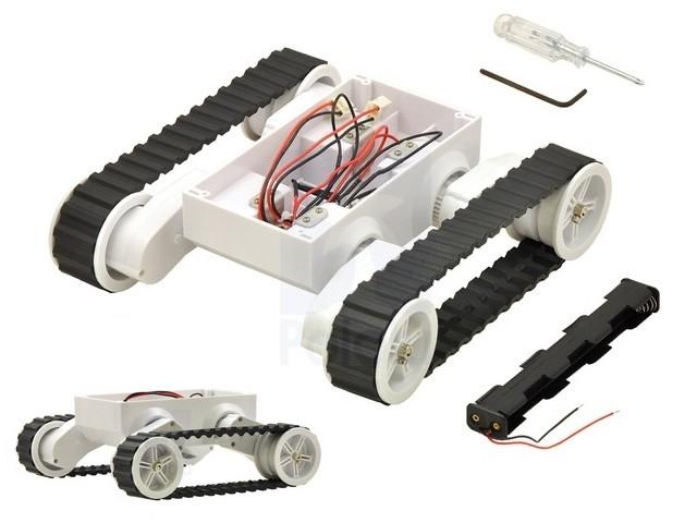Comprar chasis motorizado robot oruga rp arduino