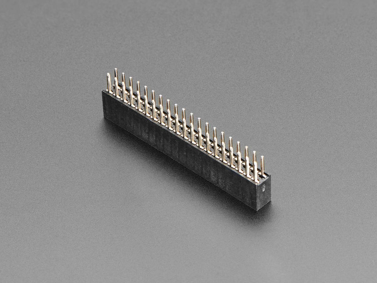 Adafruit 4079 2x20 Socket Riser Header for Raspberry Pi HATs