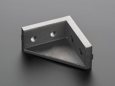 Aluminum Extrusion Double Corner Brace Support (for 20x20)