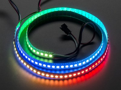 Adafruit NeoPixel Digital RGB LED Strip 144 LED - 1m White