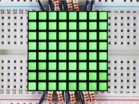 "1.2"" 8x8 Matrix Square Pixel - Pure Green"