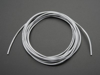 Silicone Cover Stranded-Core Wire - 2m 26AWG Gray