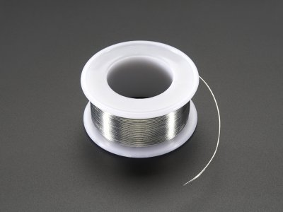 "Solder Wire - SAC305 RoHS Lead Free - 0.5mm/.02"" diameter"
