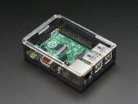 Adafruit Raspberry Pi B+ / Pi 2 / Pi 3 Case - Smoke Base