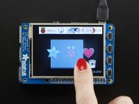 "PiTFT Plus Assembled 320x240 2.8"" TFT Resistive Touchscreen"