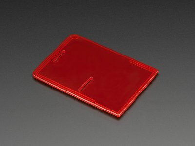 Raspberry Pi Model B+ / Pi 2 / Pi 3 Case Lid - Red