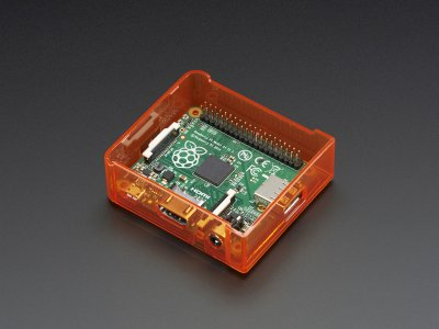 Pi Model A+ Case Base - Orange