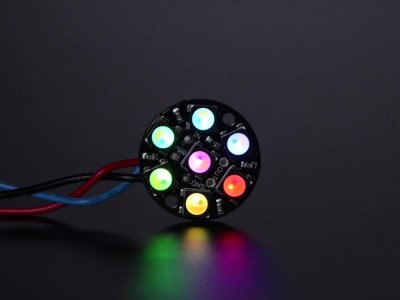 NeoPixel Jewel - 7 x 5050 RGBW LED w/ Integrated Drivers