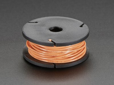 Stranded-Core Wire Spool - 25ft - 22AWG - Orange
