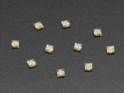 DotStar Micro LEDs (APA102?2020) - Smart SMD RGB LED - 10 pack