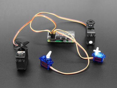 Adafruit 16-Channel PWM / Servo Bonnet for Raspberry Pi