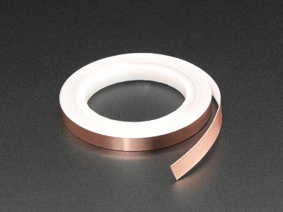 Copper Foil Tape with Conductive Adhesive - 6mm x 5 meters long