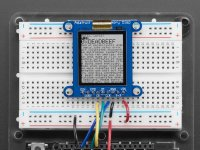 "Adafruit SHARP Memory Display Breakout - 1.3"" 168x144 Monochrom"