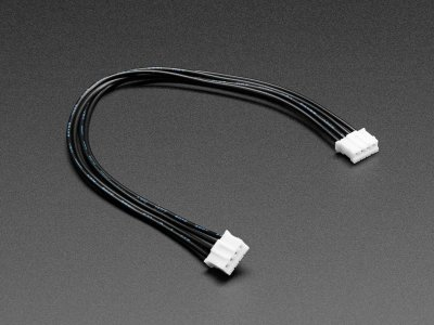 "STEMMA Cable - 150mm/6"" Long 4 Pin JST-PH Cable Female/Female"