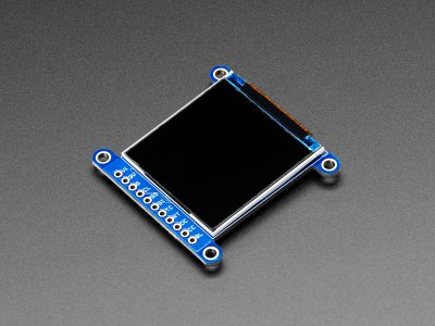 "Adafruit 1.54"" 240x240 Wide Angle TFT LCD Display with MicroSD"