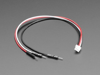 JST PH 3-Pin to Male Header Cable - 200mm