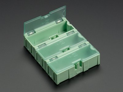 Small Modular Snap Boxes - SMD component storage - 3 pack