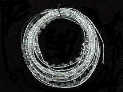 Sewable Electroluminscent (EL) Wire Welted Piping- Aqua 5 meters