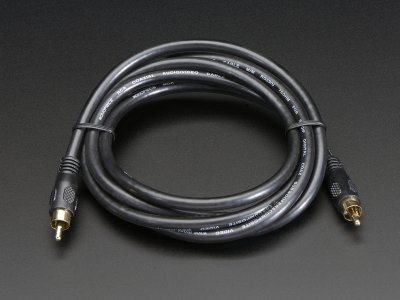 RCA (Composite Video, Audio) Cable 6 feet