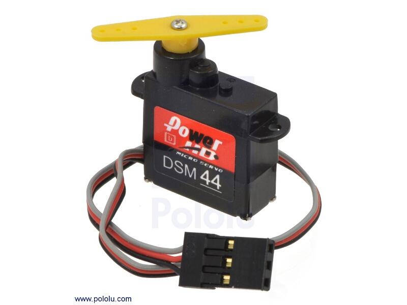 Pololu Power HD High-Speed digital micro servo dsm44 2142