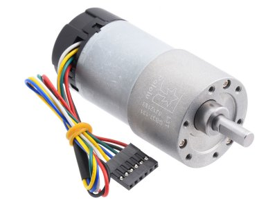 131:1 Metal Gearmotor 37Dx73L mm 12V with 64 CPR Encoder (Helica