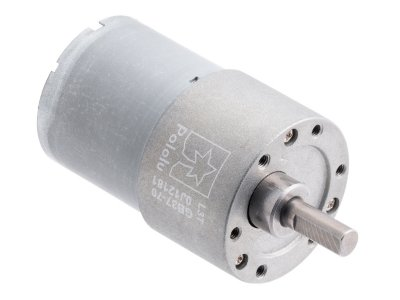 70:1 Metal Gearmotor 37Dx54L mm 12V (Helical Pinion)