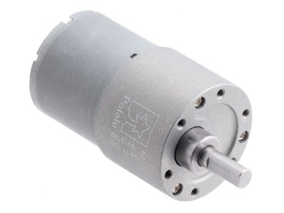 100:1 Metal Gearmotor 37Dx57L mm 12V (Helical Pinion)