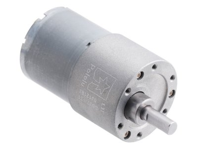 131:1 Metal Gearmotor 37Dx57L mm 12V (Helical Pinion)