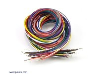 Wires with Pre-crimped Terminals 20-Piece Rainbow Assortment F-F