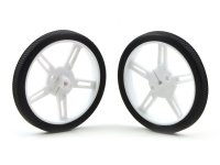 Pololu Wheel 60x8mm Pair - White