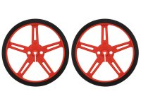Pololu Wheel 70×8mm Pair - Red