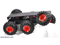 Dagu Wild Thumper 6WD All-Terrain Chassis, Black, 34:1