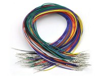 Wires with Pre-crimped Terminals 50-Piece Rainbow Assortment M-M