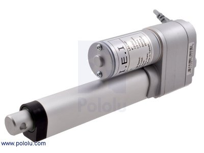 "Concentric LACT4P-12V-20 Linear Actuator with Feedback: 4"" Strok"