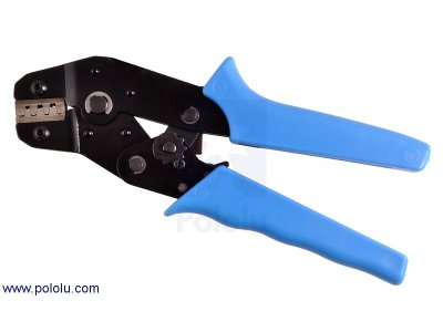 Crimping Tool: 0.1-1.0 mm2 Capacity 16-28 AWG