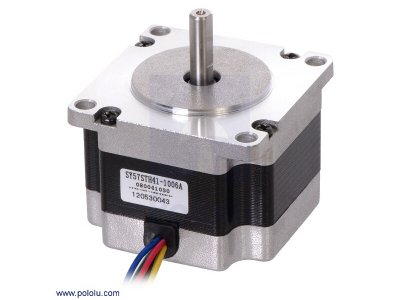 Stepper Motor: Unipolar/Bipolar, 200 Steps/Rev, 57×41mm, 5.7V, 1