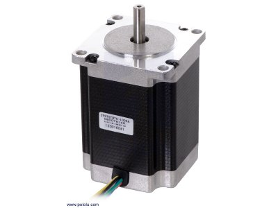 Stepper Motor: Unipolar/Bipolar, 200 Steps/Rev, 57×76mm, 8.6V, 1