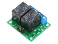 Pololu Basic 2-Channel SPDT Relay Carrier with 12VDC Relays (Ass