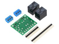 Pololu Basic 2-Channel SPDT Relay Carrier with 5VDC Relays (Part