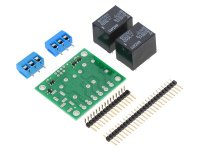 Pololu Basic 2-Channel SPDT Relay Carrier with 12VDC Relays (Par
