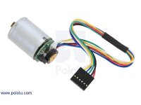 HP Motor with 48 CPR Encoder for 25D mm HP Metal Gearmotors (No