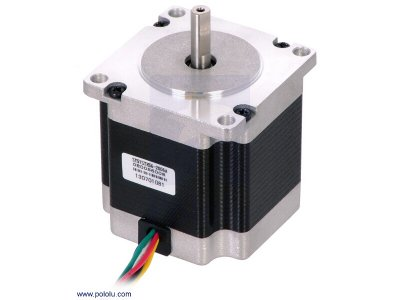 Stepper Motor: Unipolar/Bipolar, 200 Steps/Rev, 57×56mm, 3.6V, 2