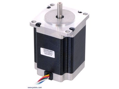 Stepper Motor: Unipolar/Bipolar, 200 Steps/Rev, 57×76mm, 4.5V, 2
