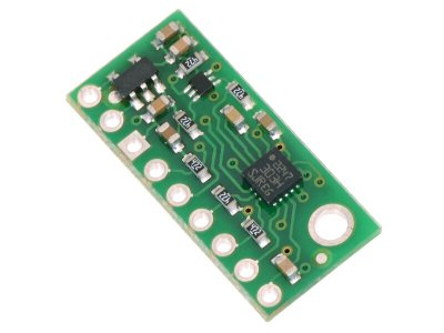LSM303D 3D Compass and Accelerometer Carrier with Voltage Regula