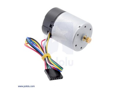 Motor with 64 CPR Encoder for 37D mm Metal Gearmotors (No Gearbo