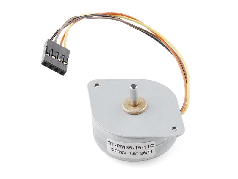 Comprar motor paso a pequeño arduino electronica y