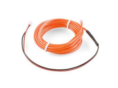 COM-10193 Sparkfun EL Wire Orange 3m Arduino, Electronics and ...