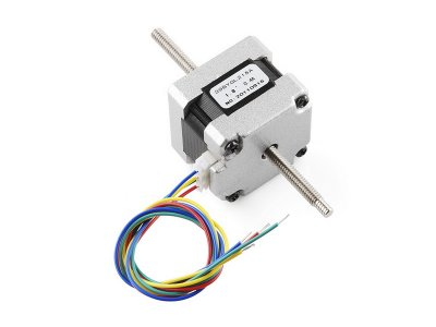 Stepper Motor Threaded Shaft