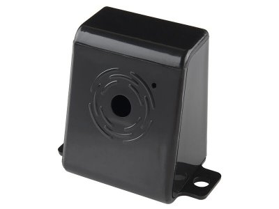 Raspberry Pi Camera Case Black Plastic