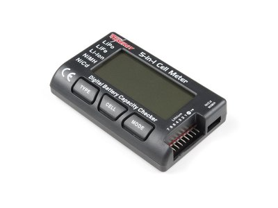 Tenergy 5-in-1 Intelligent Battery Cell Meter